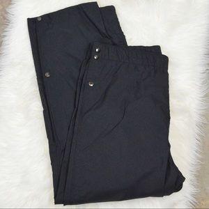 Blauer Goretex Waterproof Shell Pants Snap Waist L